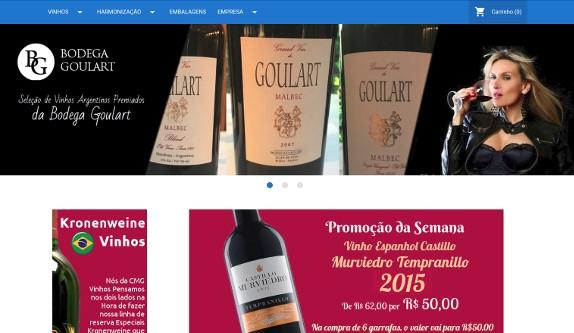 Sites focados em CMG Vinhos - Varejo de Vinhos