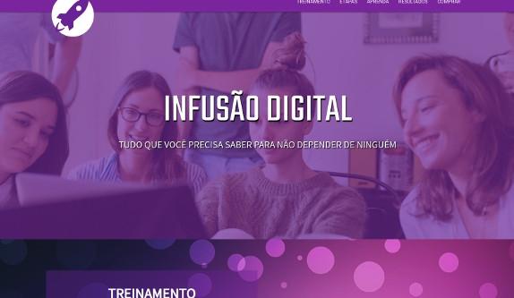 Sites focados em Hotsite - Infusão Digital