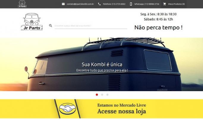 Sites focados em Mercado Livre + Website