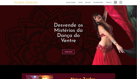 Sites focados em Site - Najwa Zaidan