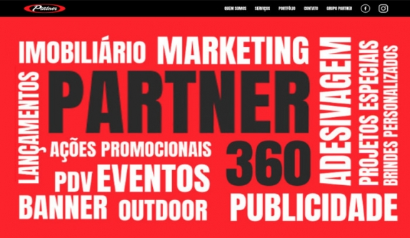 Sites focados em Site - Partner360