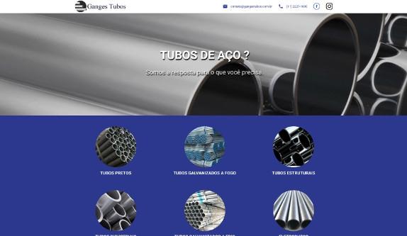 Sites focados em Tubos de Aço