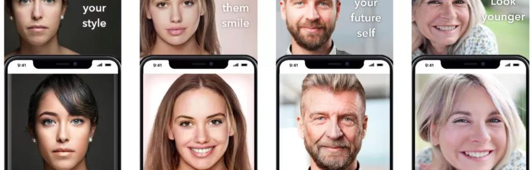 FaceAPP - Voltou com uma nova função: mudança de gênero