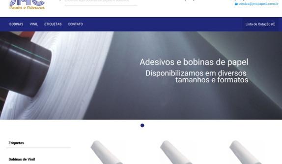 Sites focados em Site - JMC Papéis